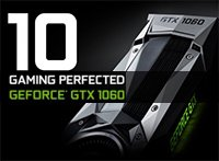 Анонс игровой видеокарты NVIDIA GeForce GTX 1060