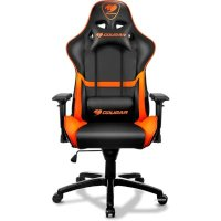 Cougar Armor Black-Orange