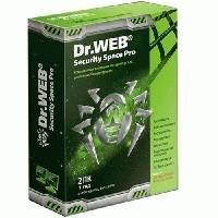Антивирус Dr. Web Security Space Pro BHW-B-12M-2-A3